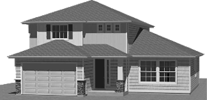 Penstemon Model Home