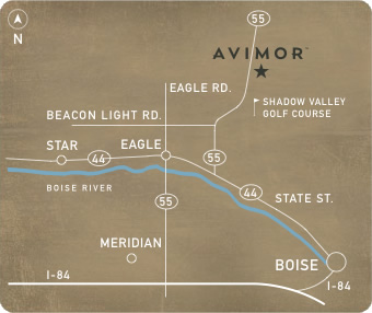 Avimor Map